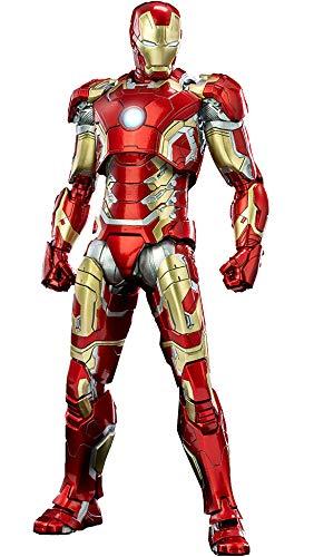Infinity Saga (インフィニティ・サーガ) 1/12 Scale DLX Iron Man Mark 43 [1/12スケール DLX アイアンマン・マーク43] 1/12スケール ABS&PVC&亜鉛合金&その他の金属製 塗装済み可動フィギュア