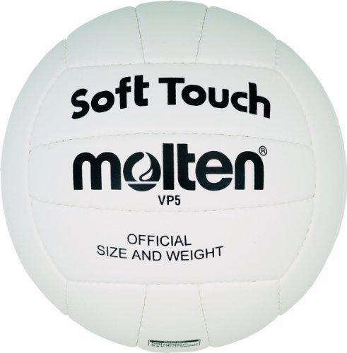 Molten Training Volleyball Gr. 5 Ball, Weiss, 5