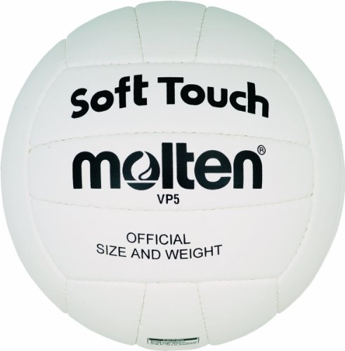 Molten Training Volleyball Gr. 5 Ball, Weiß, 5