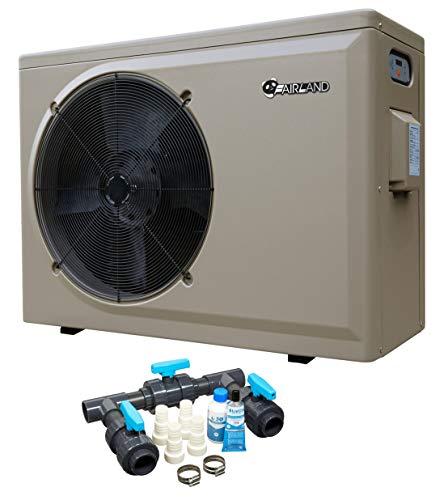 well2wellness Pool Wärmepumpe Heizpumpe PH 25L by Fairland® mit Einer Heizkapazität bis 10 kW + gratis Bypass-Set