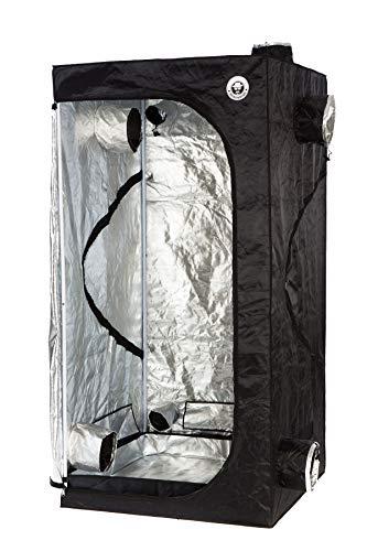 Heisenberg Growtent Growbox per la casa coltivazione, coltivazione indoor di piante, dimensioni 100 x 100 x 200cm, nero