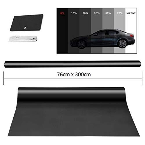 MGF 300x76cm Black Folie/Fensterfolie/Fensterfolie/Sichtschutzfolie/Sonnenschutzfolie