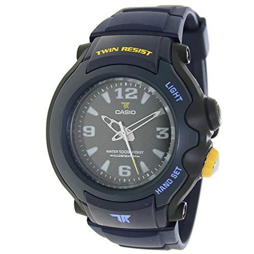 CASIO TRT-300-2B - Reloj analógico Twin Resist Sumergible 10ATM