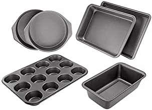 AmazonBasics 6-Piece Nonstick Oven Bakeware Baking Set