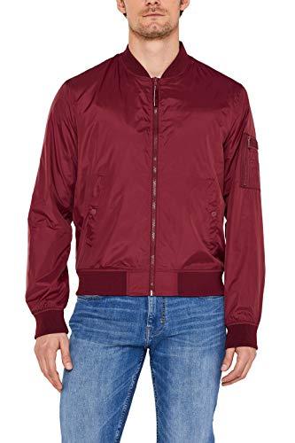 ESPRIT Herren 039Ee2G004 Jacke, Rot (Bordeaux Red 600), (Herstellergröße: XX-Large)