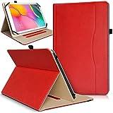 KARYLAX Étui de Protection Support Range Document Universel L Rouge pour Tablette...