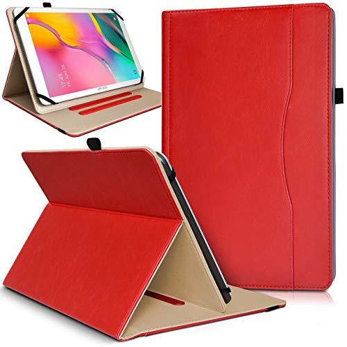 Karylax - Funda de protección con función atril para Lenovo Tab2 A10-70, color rojo