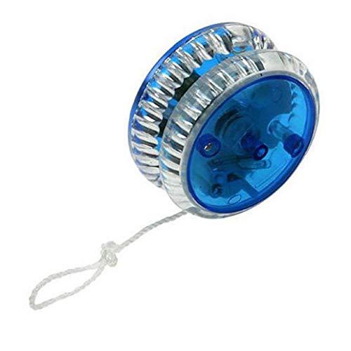 YoYo magia professionale LED del yo-yo di plastica del giocattolo Yo Yo sfera di misura per bambini adulti regalo Baby Blue