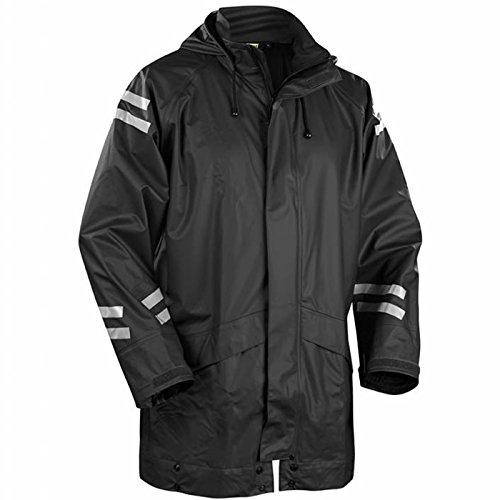Blakläder 430120009900XL Regenjacke Lang Größe XL in schwarz