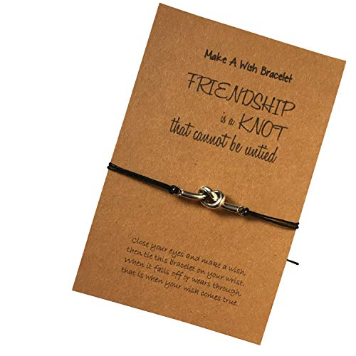 Wish Bracelet - Friendship Is A Knot That Cannot Be Untied