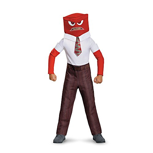 Disguise Anger Classic Child Costume, Medium (7-8) by Disguise