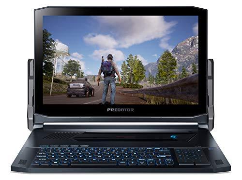 Acer Predator Triton 900 PT917-71-76VT 43,9 cm (17,3 Zoll Ultra-HD IPS Multi-Touch) Gaming Notebook (Intel Core i7-9750H, 32GB RAM, 2x 512GB PCIe SSD-RAID, GeForce RTX 2080, Win 10 Home) schwarz/blau