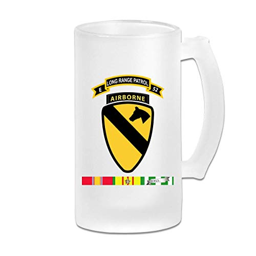 52. Inf ABN 1. Cav Div Wear - Beständiger Bierkrug mit Anti - Pint Gläsern Biergläser