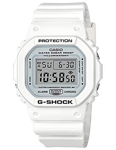 Casio G-Shock 5600, White, onesize M US