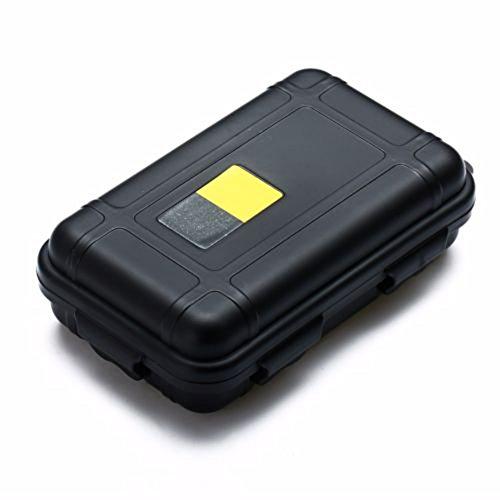 RENNICOCO Anti-presión a Prueba de Golpes Caja-LeBeila contenedor Impermeable plástico Caja de Almacenamiento en seco con Espuma Flotante sobreviviente Caso seco para Exteriores