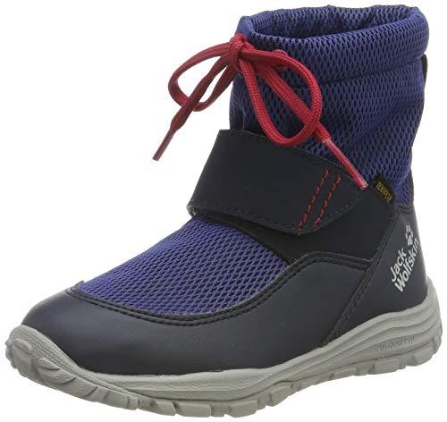 Jack Wolfskin Kiwi WT Texapore MID K Wasserdicht Bootsschuh, Dark Blue/Red, 33 EU