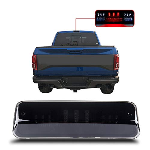 For 2004-2008 Ford F-150 2007-2010 Ford Explorer Sport Trac 2006-2008 Lincoln Mark LT High Mount Brake Light Smoke Lens LED Light LED 3rd Brake Light Cargo Light