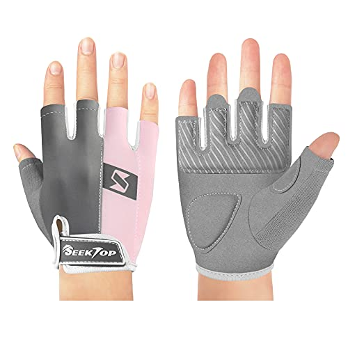 Seektop Gym Gloves Workout Gloves for Women Men, Weight Lifting Gloves Exercise Gloves for Training, Fitness, Hanging, Pull ups, Full Palm Protection, Breathable & Non-Slip