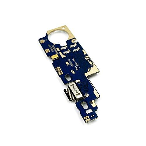 HDHUIXS Compatibilidad Micro Carga Tablero de la flexión del Cargador Cable de Puerto con micrófono Módulo For Xiaomi Mi MAX 2 Teléfono USB Profesional