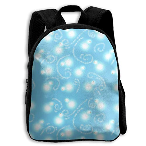 ADGBag Children Boys Girls Snowman Blizzard Backpack Shoulder Bag Book Scholl Travel Backpack Mochila para niños