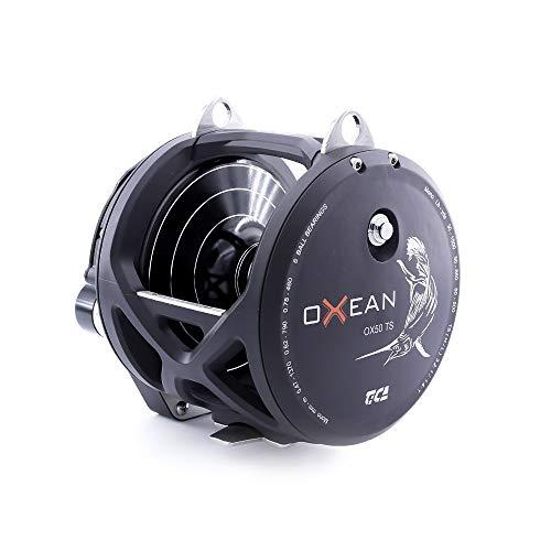 TICA Oxean Ox50Ts - Carrete de Pesca, Color Negro Mate, Gear Ratio...