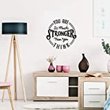 Vinyl Wall Art Decal - You are So Much...