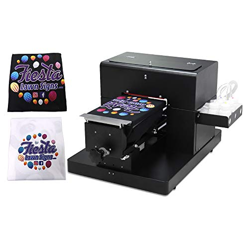 DTG Printer A4 Size T-Shirt Printing Machine DTG Printer for T-Shirts/Onesies/Socks/Bags