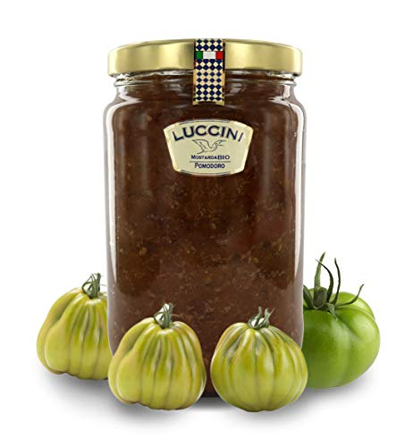 Luccini Mostarda Handwerk Tomate, 2 kg, Mostarde – Früchte höchster Qualität