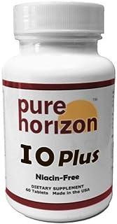 IOPlus by Pure Horizon Niacin-Free Iodine Supplement