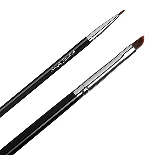 Premium Quality Liquid Eyeliner Brushes- For Professional and Natural Look- For Enhancing Beauty and Confidence - Great Christmas Gift Ideas