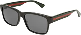 Gucci GG0340S Square Sunglasses For Men For Women+FREE Complimentary Eyewear Care Kit
