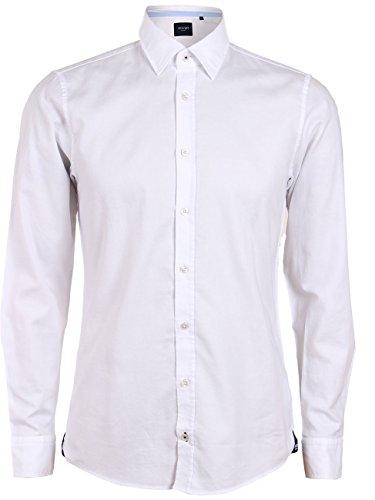 Joop! Herren Business Hemd Hanson K2 - Modern Fit, Größe:L, Farbe:Weiß (100)