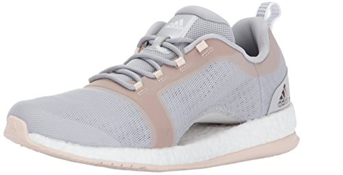 adidas Damen Pureboost X TR 2 Grey Two/White/Linen 41 M EU