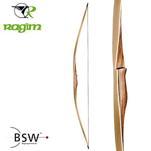 SET RAGIM Wolf Custom - 68 Zoll - 25-60 lbs - Langbogen (68 Zoll / 35 lbs, Rechts)