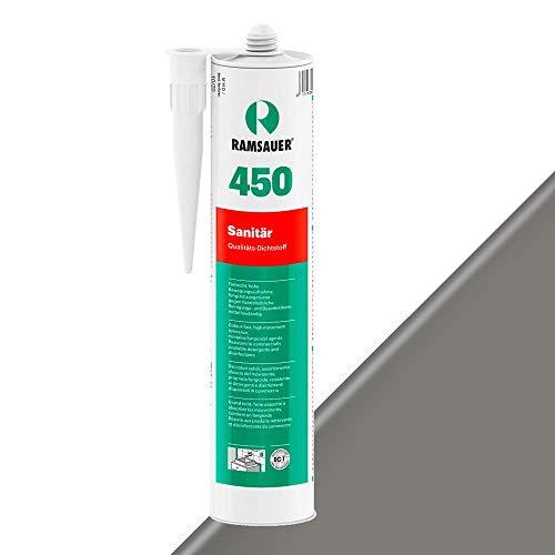 Ramsauer 450 1K Silikon Dichtstoff 310ml Kartusche (Grau)