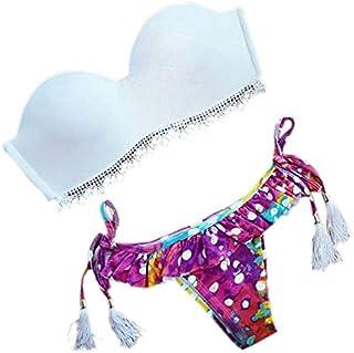BEESCLOVER Women Summer Brazilian Low Waist Bikini Set Swimwear Swimsuit Sexy Bathing Suit B2Cshop