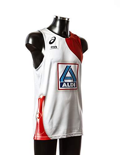 Beach Volleyball Major Series HAM_4_Men_XL White/Red