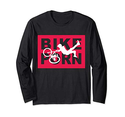 Bike Porn Mountain Bike Long Sleeve T-Shirt