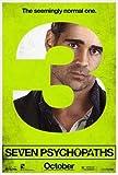 Seven PSYCHOPATHS - Colin Farrell – Film Poster Plakat