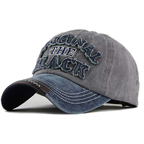 CheChury Cappellini con Visiera, Berretto Uomo Estivo Unisex Ricamato Cappello Vintage Hat Baseball Regolabile Hip Hop Casuali Cappellino Moto