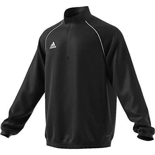 adidas Herren Core 18 Windbreaker Jacke, Black/White, XL