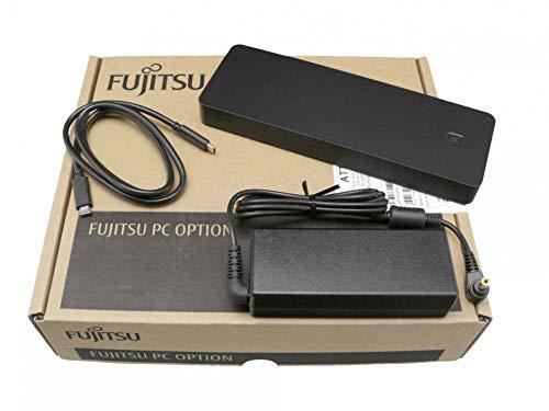 Fujitsu LifeBook E458 Original USB-C Port Replikator inkl. 90W Netzteil