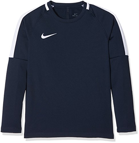 Nike Jungen Dry Academy Longsleeve, Obsidian/White, M