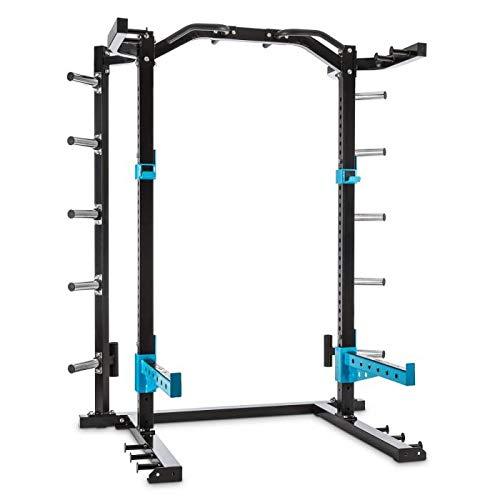 Capital Sports Amazor H - Rack de musculation pour entraînement sûr (barre de suspension de 87cm, barre de...