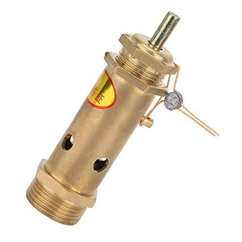 Válvula de presión profesional, válvula de alivio G3 / 4, válvula de seguridad, resistente para generadores de vapor industriales o calderas eléctricas, calderas de carbón
