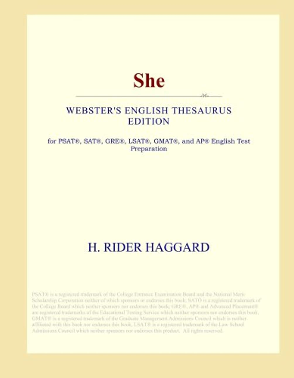 年金受給者百年噴出するShe (Webster's English Thesaurus Edition)
