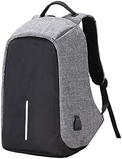 Anti-theft travel backpack large capacity waterproof nylon laptop bag USB charging shoulder bag college students bag[zZ]