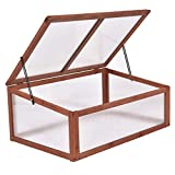 LordBee Garden Portable Wooden Greenhouse Sturdy and Durable Patio Outdoor Indoor Plant Flower...