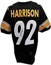 James Harrison Autographed Jersey - Black 129958 - JSA Certified - Autographed NFL Jerseys