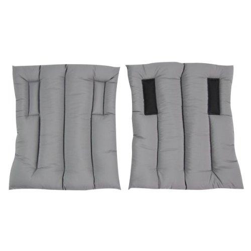 WALDHAUSEN Bandagierkissen für Stall- Wärmegamaschen, grau, M, grau, M